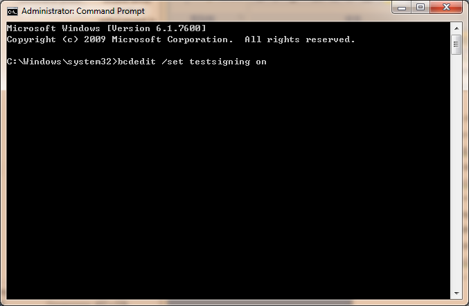 command prompt type command
