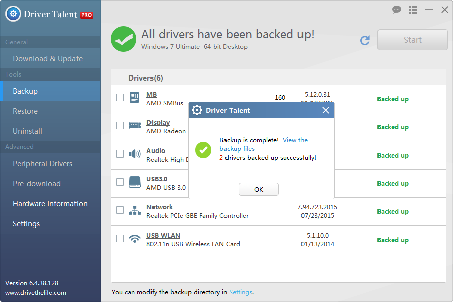 2 Ways to Save Drivers before Windows 10 Update  Driver Talent
