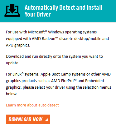 update amd drivers windows 8
