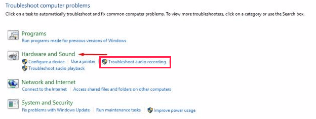 Microphone Detected But Not Working Windows 10