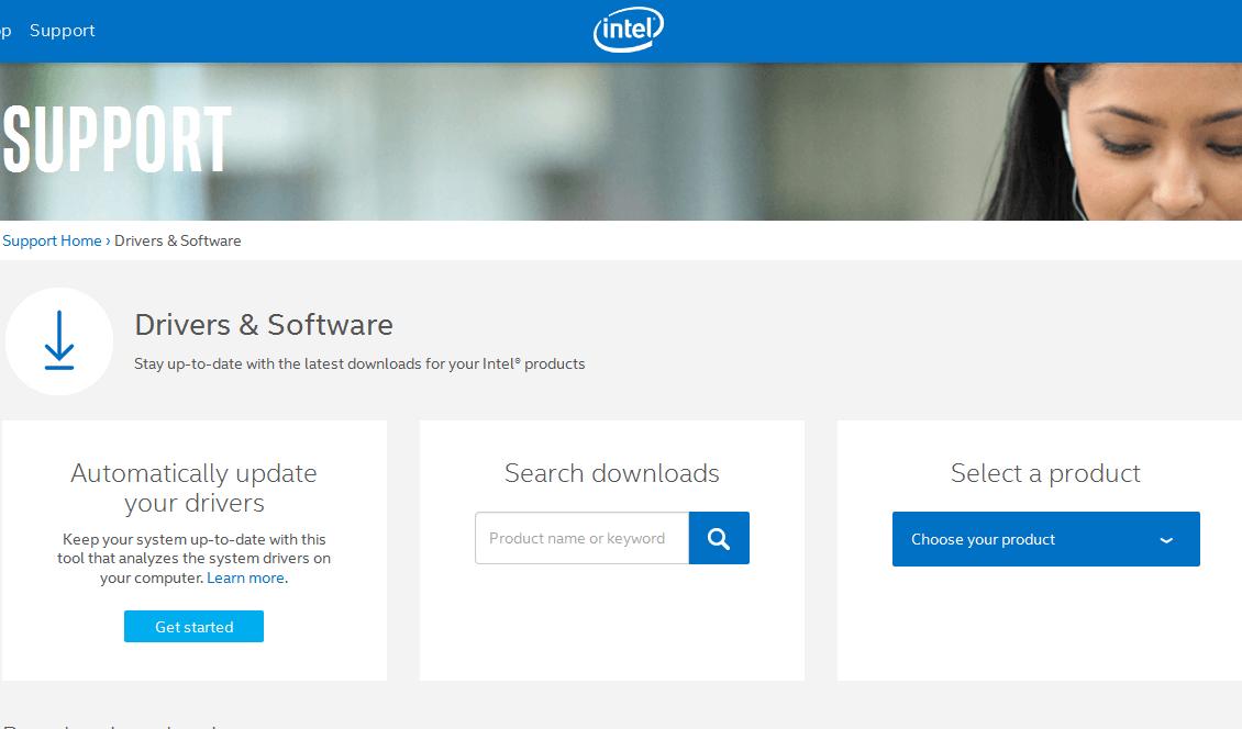intel audio driver windows 10