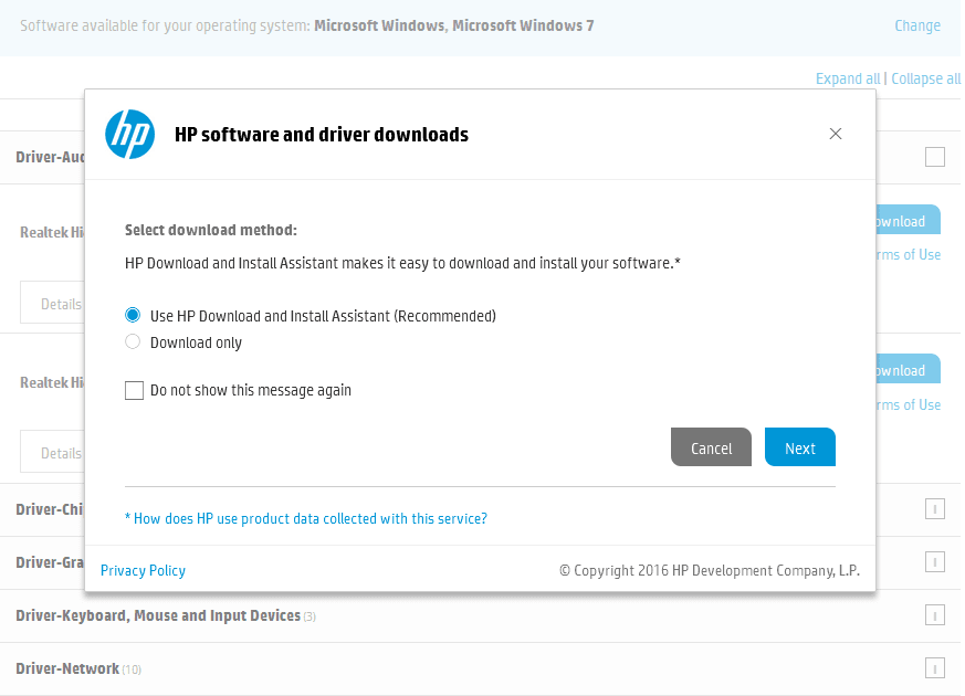 Hp Invent Audio Drivers Free Download For Windows 7