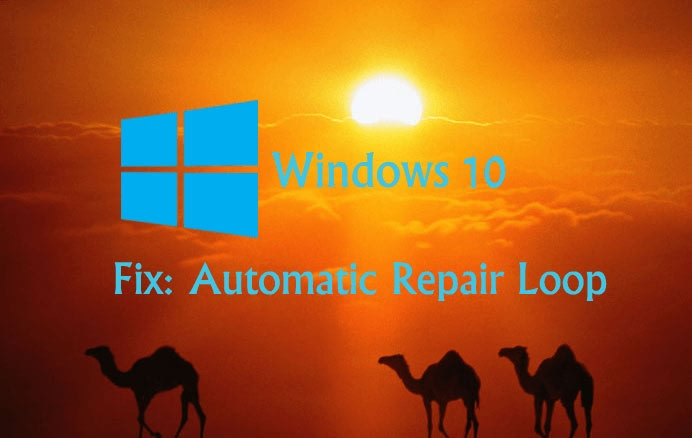 windows 10 automatic repair after update