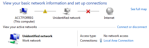 How to Fix Unidentified Network Problem on Windows 10