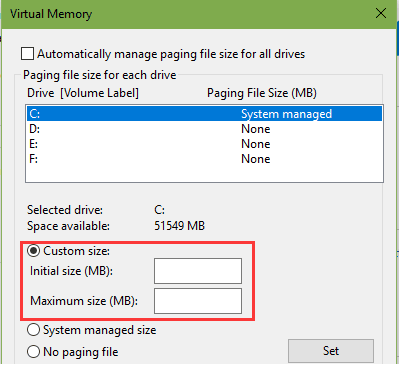 windows 10 how to upgrade c drive