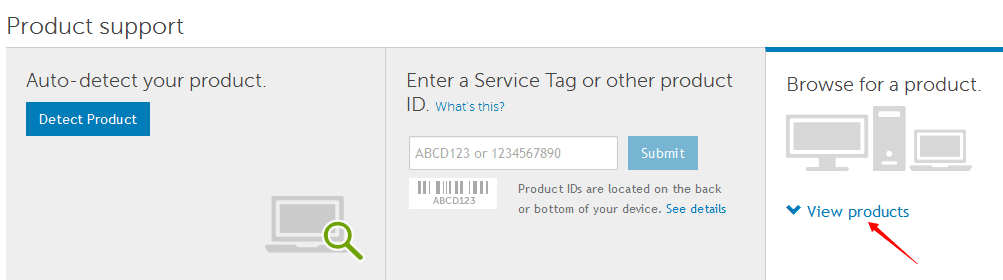 download drivers dell service tag