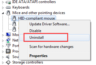 HID-compliant Mouse Drivers for Windows 10, 8 1, 8, 7, Vista