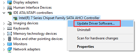 INTEL SATA AHCI RAID PREINSTALL DRIVERS FOR WINDOWS 10