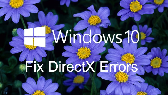 How to Fix DirectX Errors after Windows 10 Update | Driver Talent