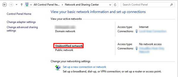 how-to-fix-unidentified-network-problem-on-windows-10