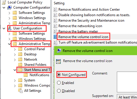 Fix: Audio/Sound/Volume Icon Missing on Windows 10 | Driver