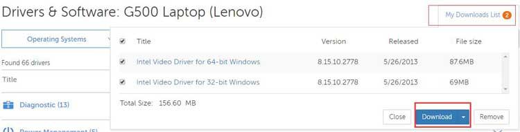 драйвера для lenovo g500 windows 10