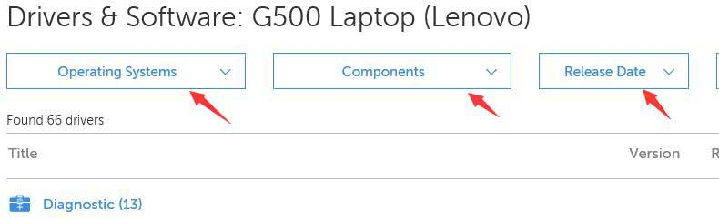 драйвера lenovo g500 для windows 10