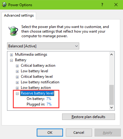 fix: laptop battery not charging to 100% on windows 10