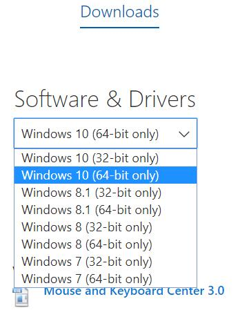 microsoft windows 7 32 bit drivers download