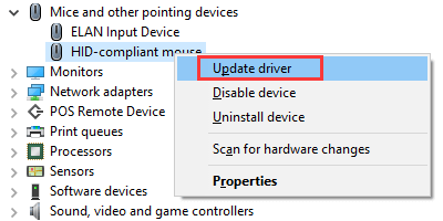 Fix Mouse Cursor Disappears after Windows 10 Creators Update