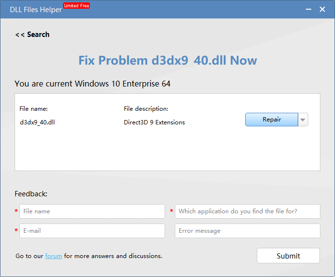 d3dcompiler 43.dll pour windows 7