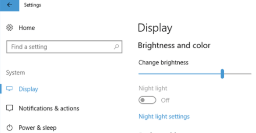 Fix Night Light Not Working after Windows 10 Fall Creators Update