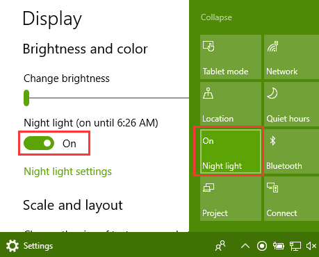 night-light-settings-action-center-windows-10-fall-creators-update