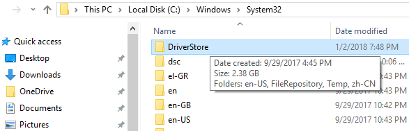 delete-windows-system32-driverstore-free-disk-space