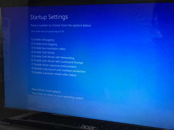 startup-settings-enter-safe-mode-networking-windows-10