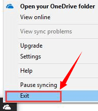 exit-onedrive-not-syncing-problem-windows-10.png