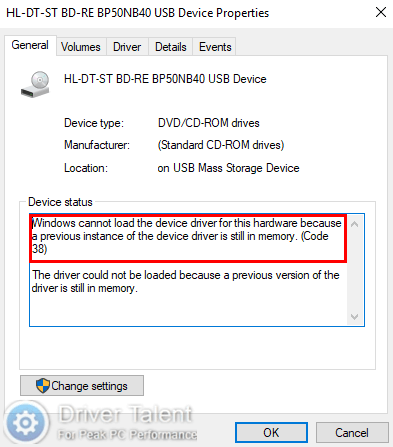 Fix Code 38 Windows Cannot Load The Device Driver For This Hardware