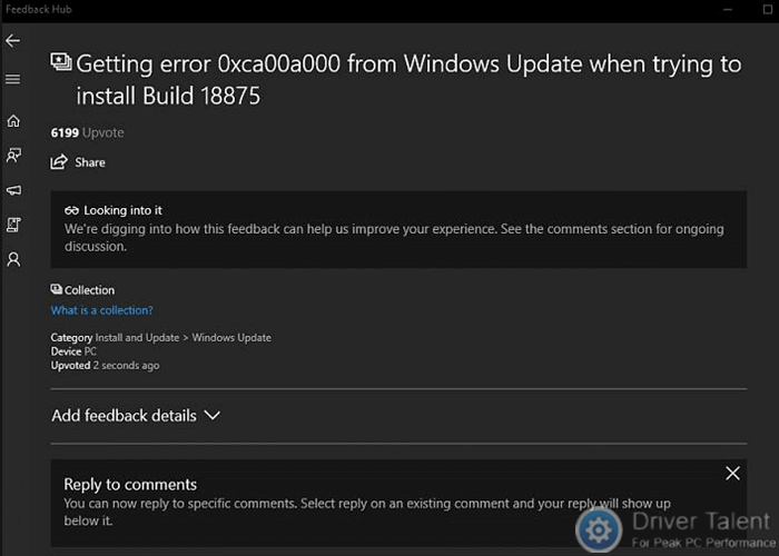 feedback-hub-fix-0xca00a000-0x80242016-error-build-18875.png