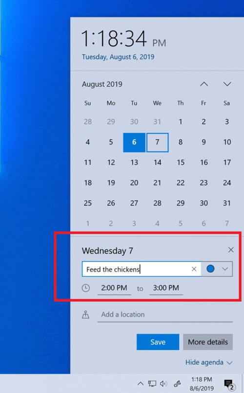 calendar-flyout-build-18362-10019-released-windows-10-19h2.jpg
