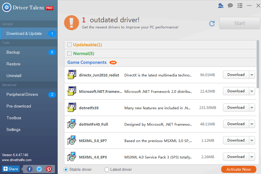 download driver for windows 10