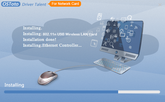 Driver Talent for Network Card full screenshot